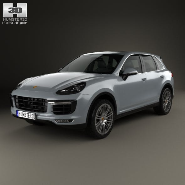 Porsche Cayenne Turbo 2014 - 3DOcean Item for Sale