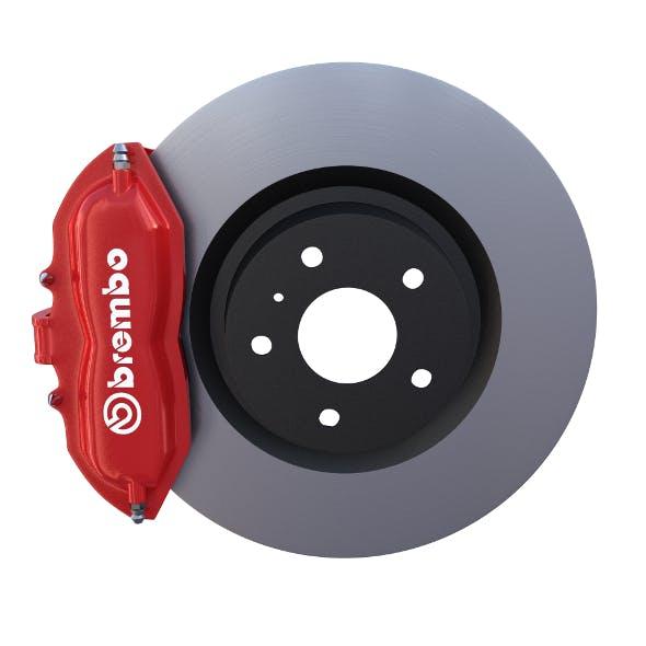 Brake System - 3DOcean Item for Sale