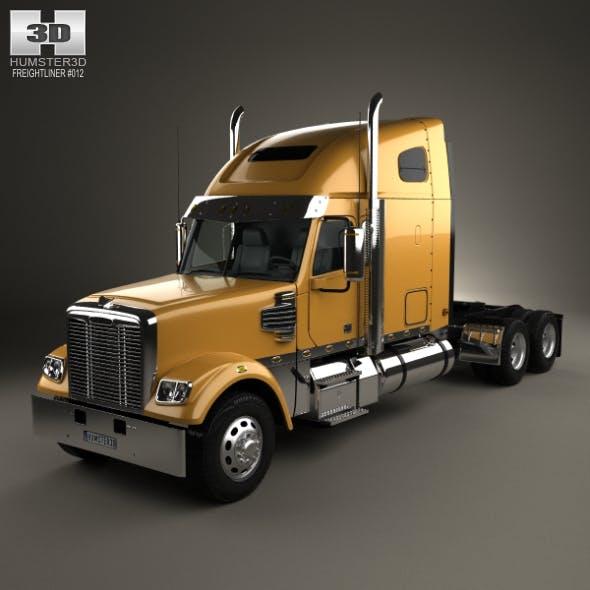 Freightliner Coronado Tractor Truck 2009 - 3DOcean Item for Sale