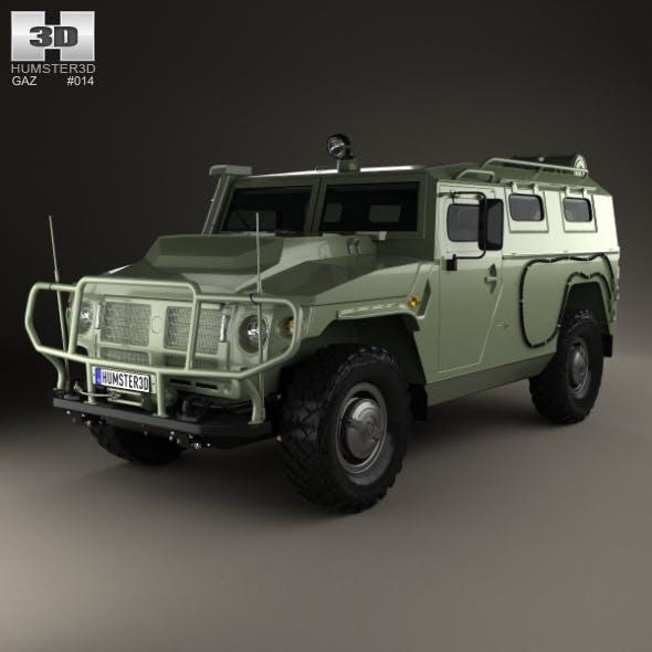GAZ Tiger-M 2011 - 3DOcean Item for Sale