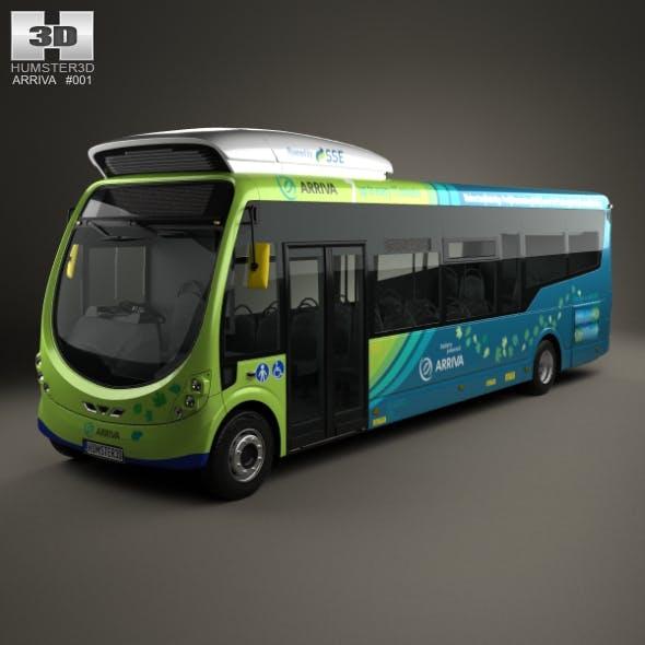 Arriva Milton Keynes Electric Bus 2014