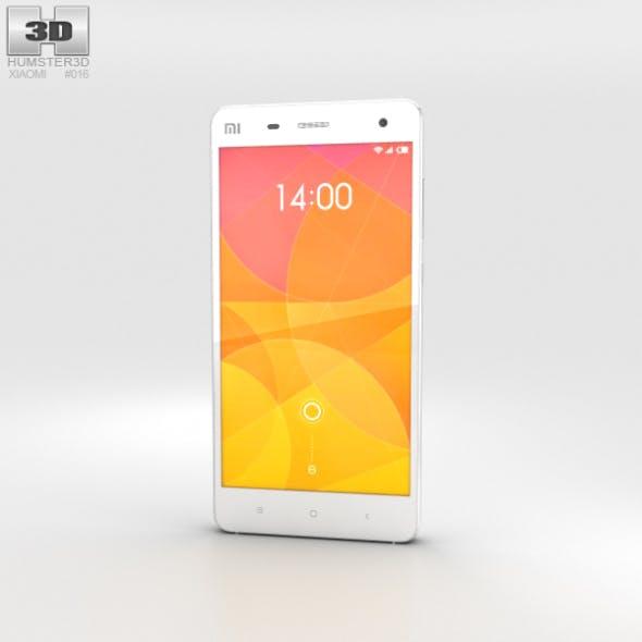 Xiaomi MI 4 White - 3DOcean Item for Sale