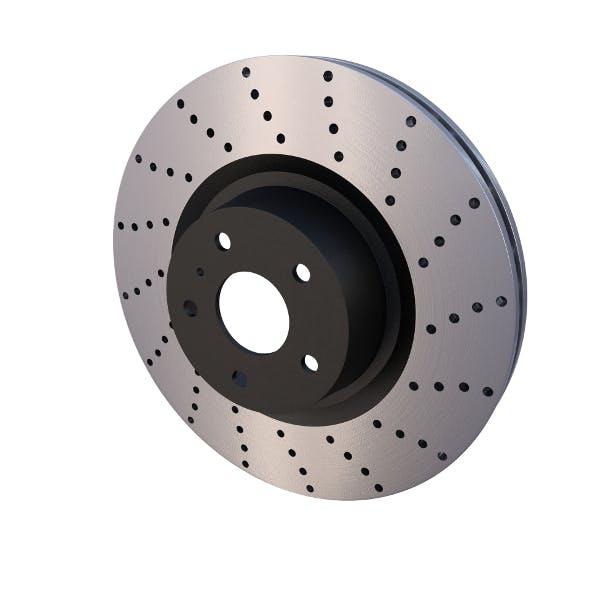 Sport Ventilated Brake Disk - 3DOcean Item for Sale