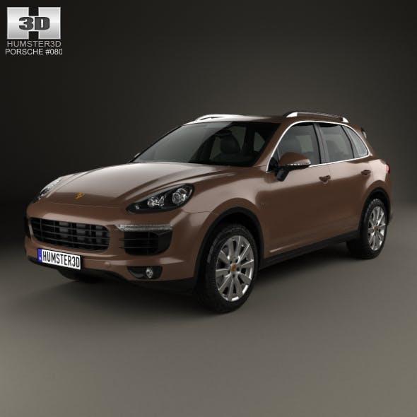 Porsche Cayenne S Diesel 2014 - 3DOcean Item for Sale