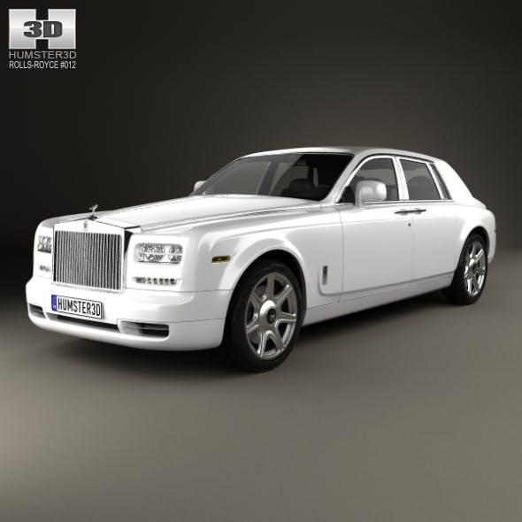 Rolls-Royce Phantom sedan 2012 - 3DOcean Item for Sale
