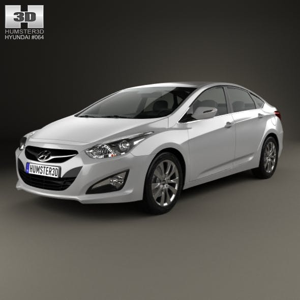 Hyundai i40 sedan (EU) 2012