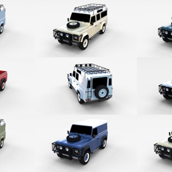 Land Rover Defender Pack
