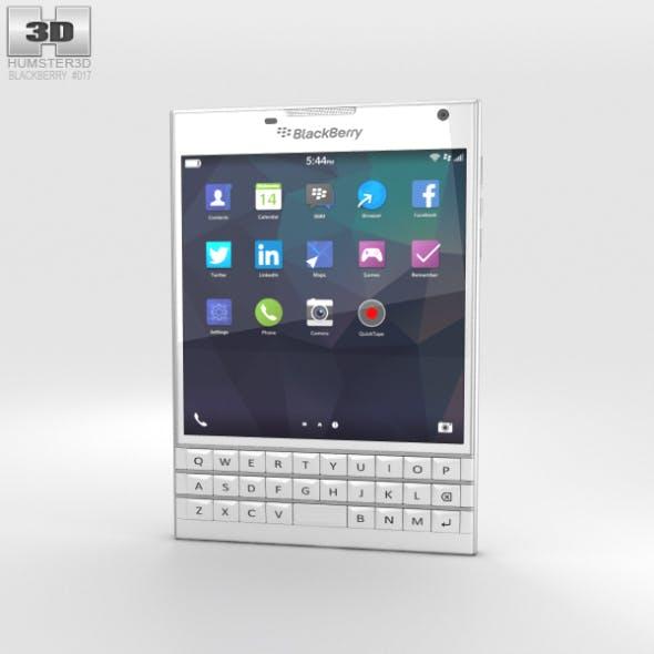 BlackBerry Passport White - 3DOcean Item for Sale