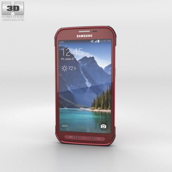 Samsung Galaxy S5 Active Ruby Red