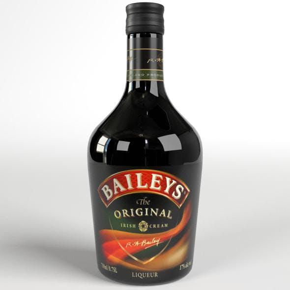 Baileys Irish Cream Whiskey Bottle