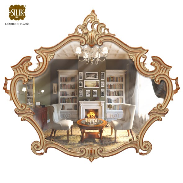 Silik Vesta frame with mirror - 3DOcean Item for Sale