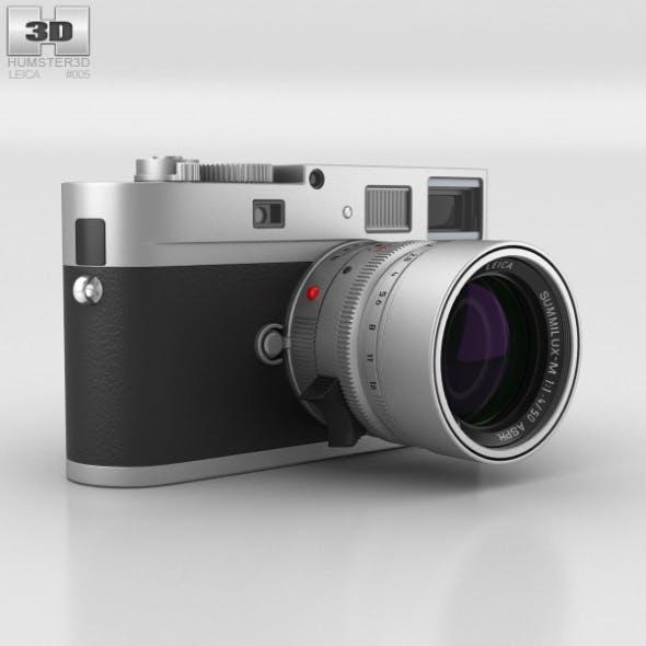Leica M Monochrom Silver - 3DOcean Item for Sale