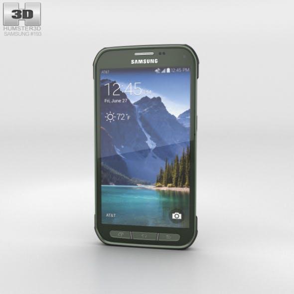 Samsung Galaxy S5 Active Camo Green - 3DOcean Item for Sale
