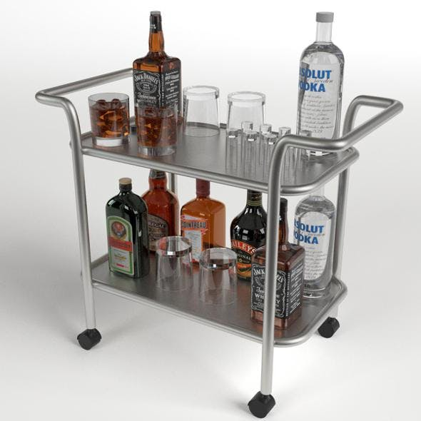 Drinks Trolley Cart 1