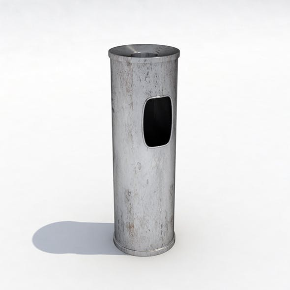 Street trash can - 3 - 3DOcean Item for Sale