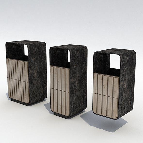 Street trash can - 6 - 3DOcean Item for Sale