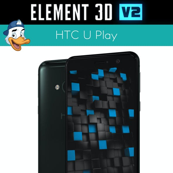 HTC U Play for Element 3D