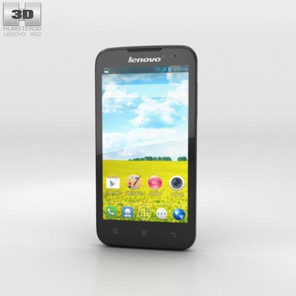Lenovo A516 Black - 3DOcean Item for Sale
