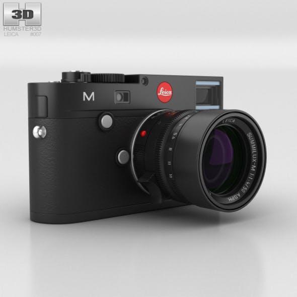 Leica M (Type 240) Black - 3DOcean Item for Sale