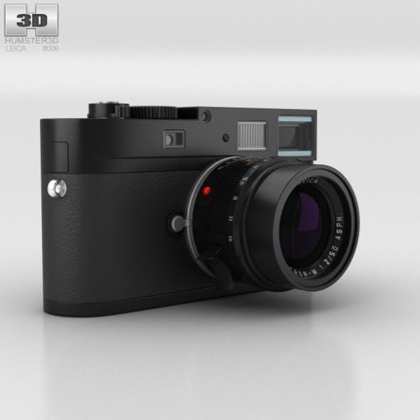 Leica M Monochrom Black - 3DOcean Item for Sale