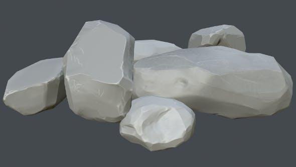 pbr stones - 3DOcean Item for Sale