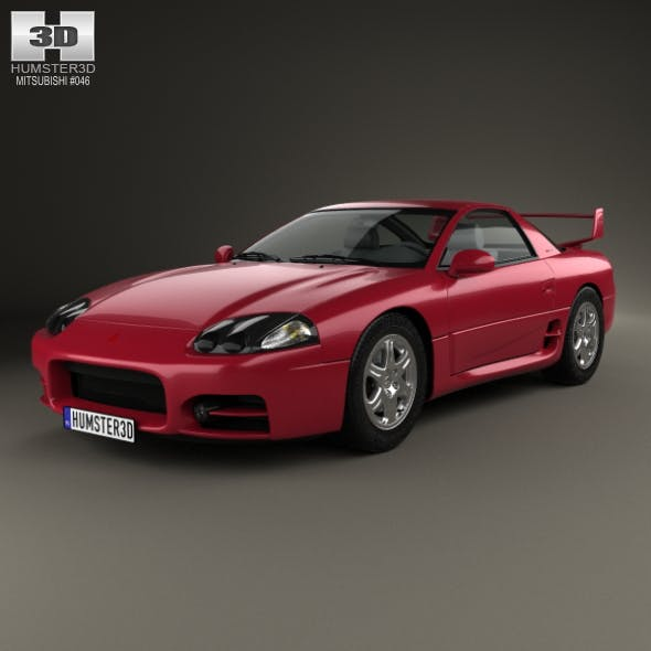 Mitsubishi 3000GT 1999 - 3DOcean Item for Sale