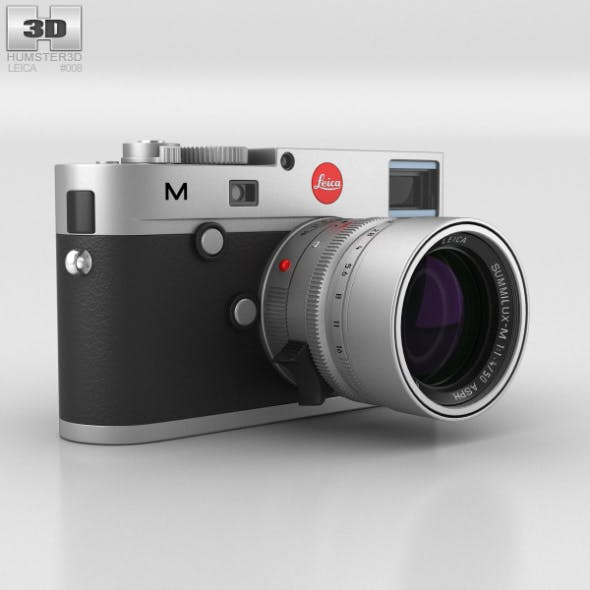 Leica M (Type 240) Silver - 3DOcean Item for Sale