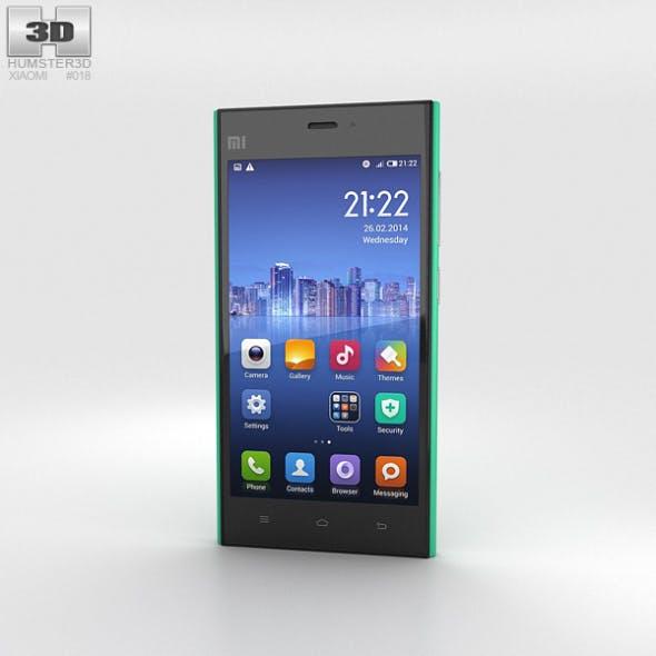 Xiaomi MI 3 Green - 3DOcean Item for Sale