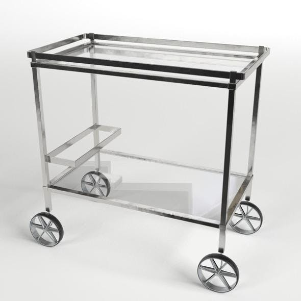Food Trolley Beverage Cart 4