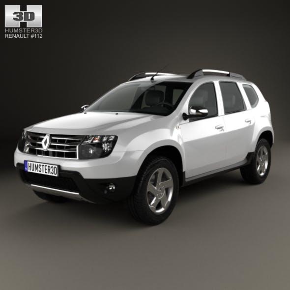 Renault Duster 2012 - 3DOcean Item for Sale