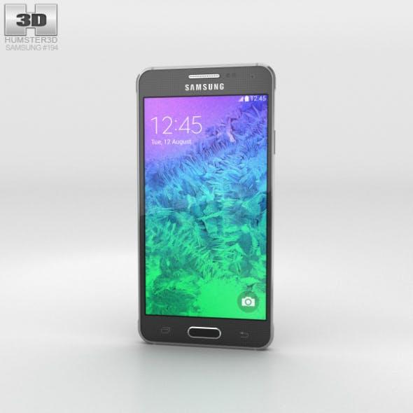Samsung Galaxy Alpha Charcoal Black - 3DOcean Item for Sale