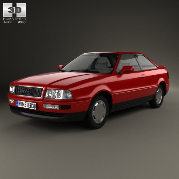 Audi Coupe 1991 - 3DOcean Item for Sale