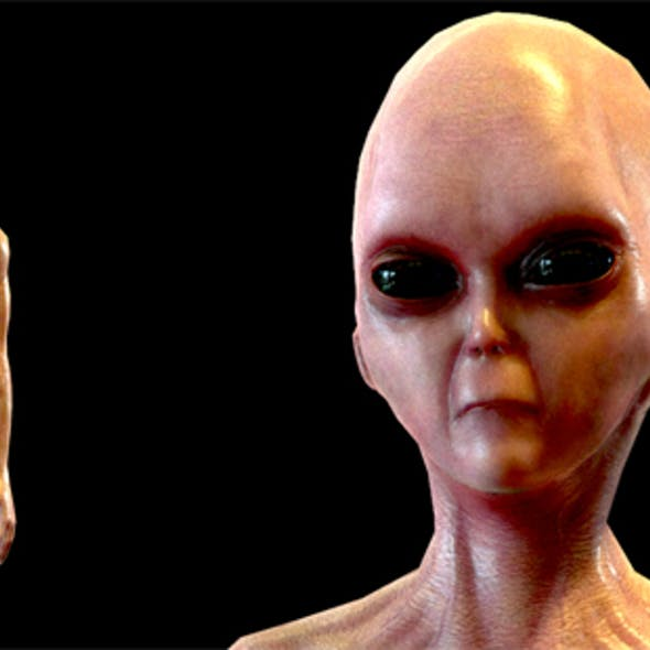 Realistic Alien 1