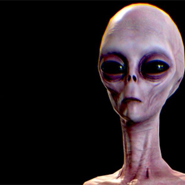 Realistic Alien 4