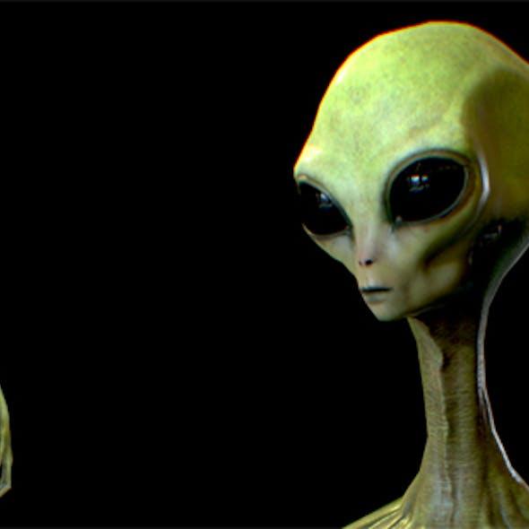 Realistic Alien 6
