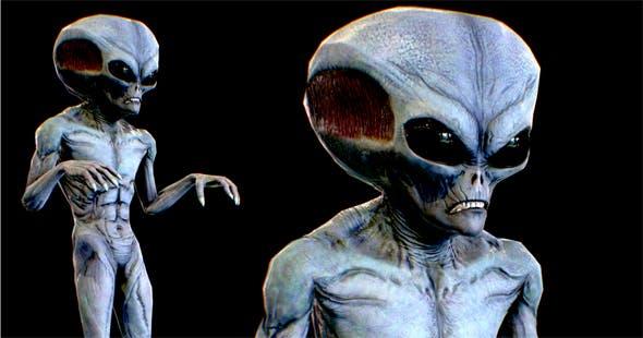 Realistic Alien 7 - 3DOcean Item for Sale