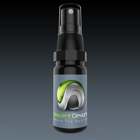 High Resolution Spray Bottle - 3DOcean Item for Sale