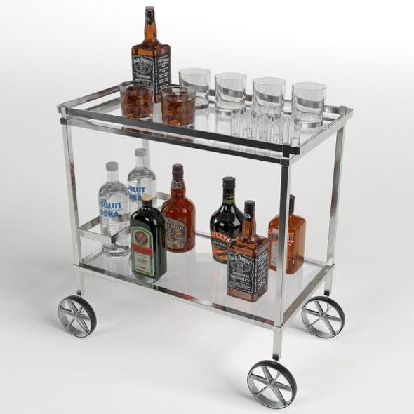 Drinks Trolley Cart 2