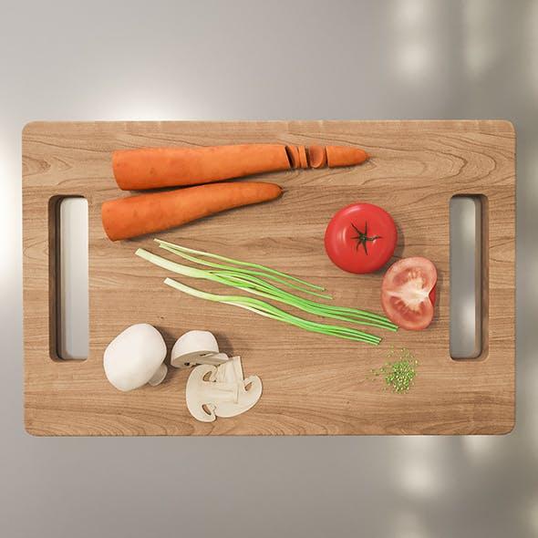 Vegetables - 3DOcean Item for Sale
