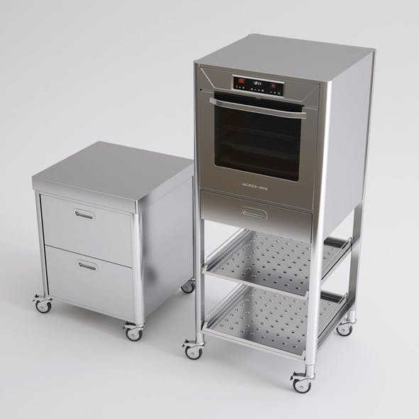 Alpes Inox Kitchen Furniture and Appliances by Genkot29 ...