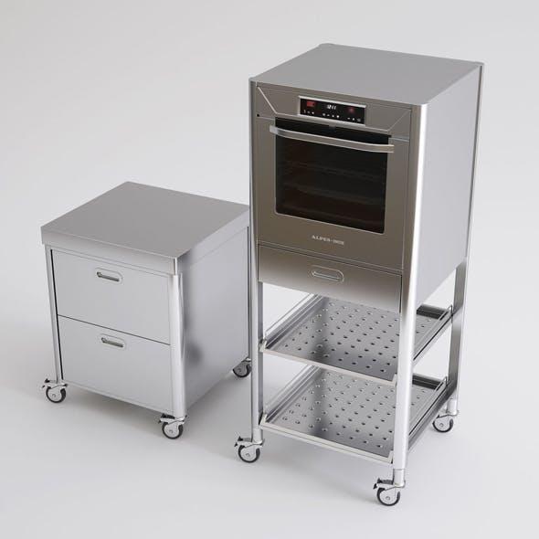 Alpes Inox Kitchen Furniture and Appliances
