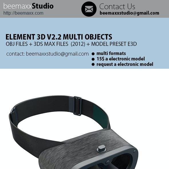 E3D - Google DayDream + Controller