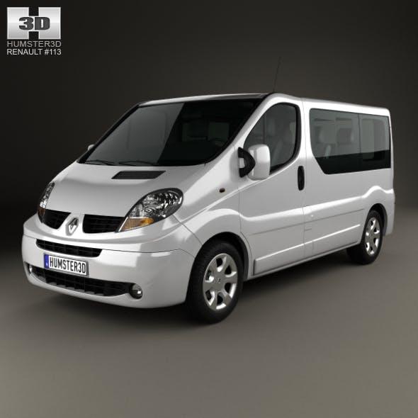 Renault Trafic Passenger SWB SR 2011 - 3DOcean Item for Sale