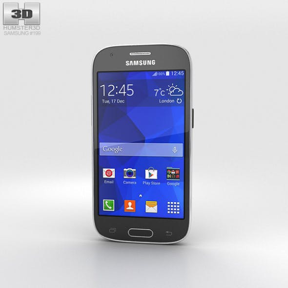 Samsung Galaxy Ace Style LTE Gray - 3DOcean Item for Sale