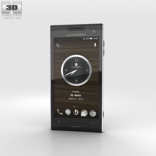 Lumigon T2 HD Black - 3DOcean Item for Sale
