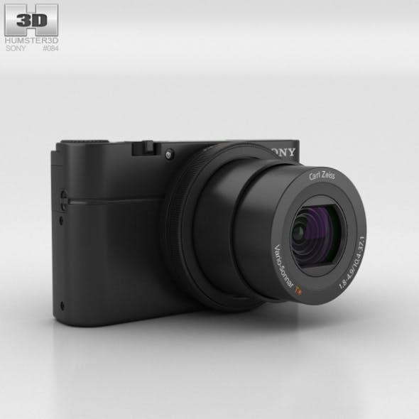 Sony Cyber-shot DSC-RX100 - 3DOcean Item for Sale