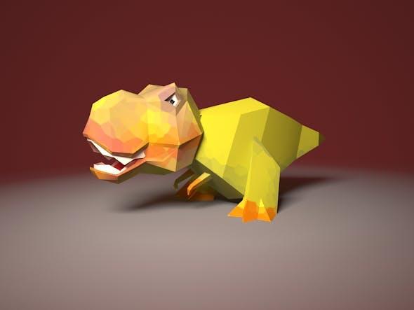 Dinisaur Rex - 3DOcean Item for Sale