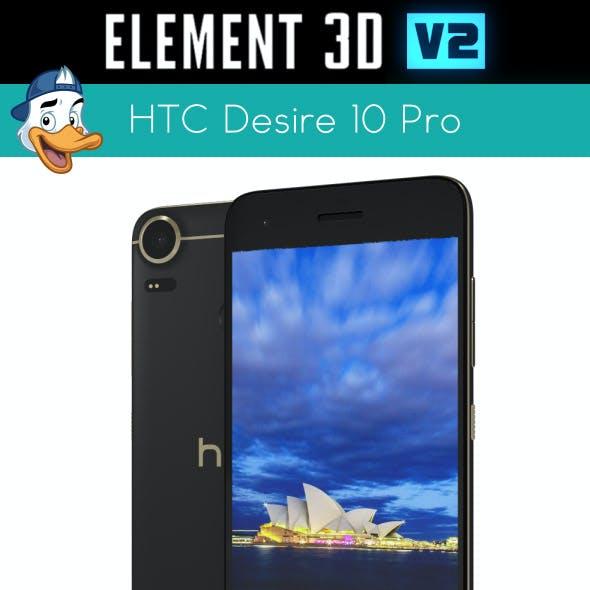 HTC Desire 10 Pro for Element 3D