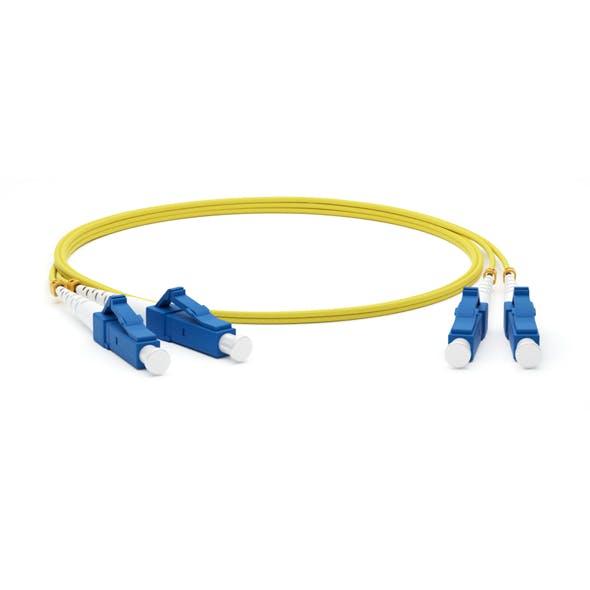 LC adhesive connectors Fiber