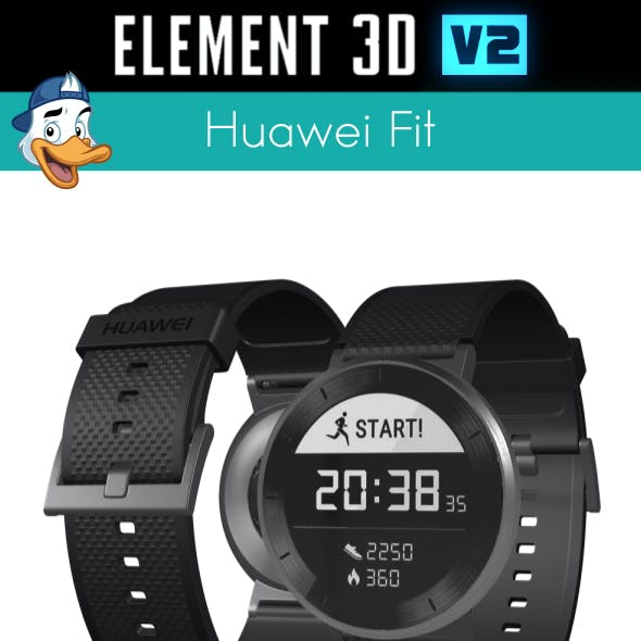 Huawei Fit for Element 3D
